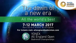 yonex all england open badminton championships 2017 official trailer short edit