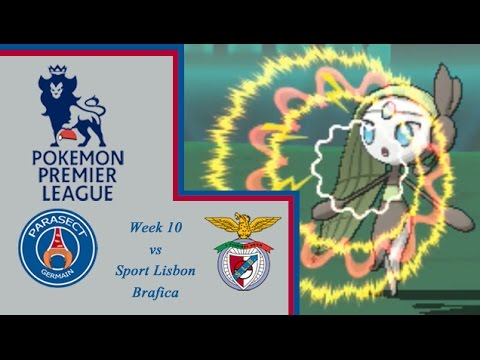 Pokémon Premier League Week 10: Parasect Germain vs Sport Lisbon Brafica