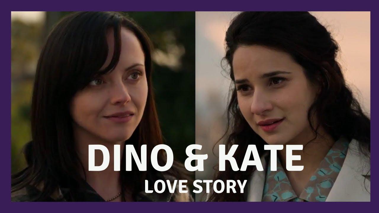 Dino and Kate - Lesbian Interest Storyline [Eng,Port, Esp Subtitles]