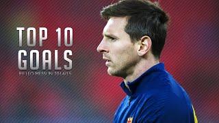 Lionel Messi ● Top 10 Goals in 2014/2015 so far | HD