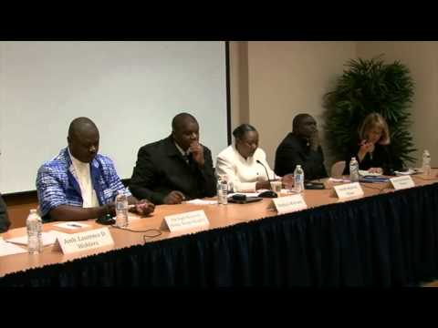 Crisis in the Central African Republic Panel Discussion FULL EVENT