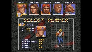 Streets Of Rage 3 - Playthrough (Sega Genesis)
