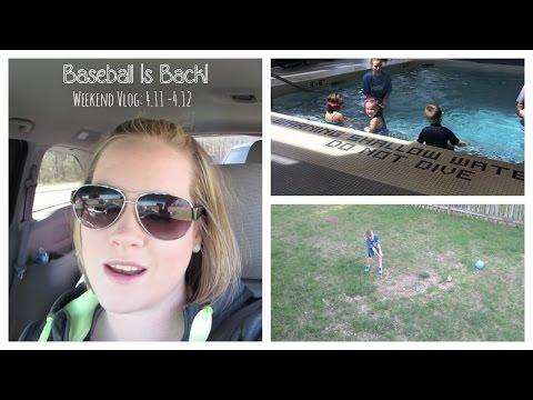 """""""Baseball Is Back"""" - Weekend Vlog 4.11-4.12"""