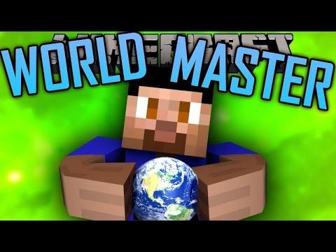 Minecraft WORLDMASTER #1 with Vikkstar, Preston, Woofless & Pete (Minecraft Mini-Game)