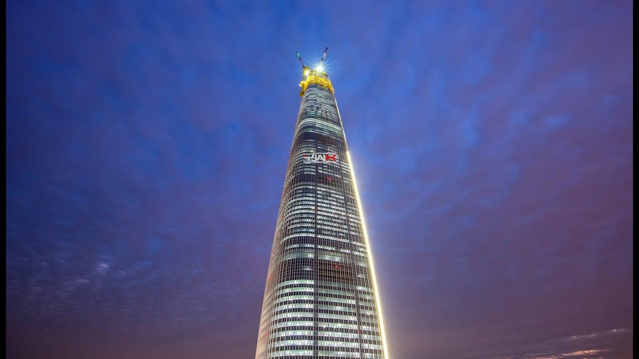 Lotte World Tower 555m 123 Floors November 2015 롯데
