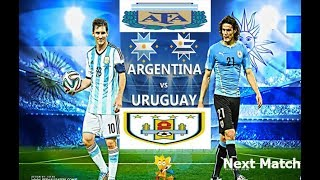 Uruguay vs argentina CONMEBOL South American World Cup Qualifiers (31 August 2017)