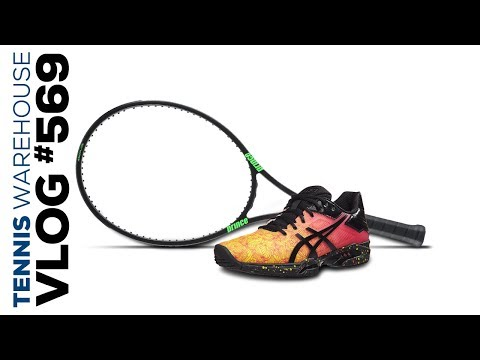 New Prince Phantom Racquets! New Asics Shoes! -- VLOG #569