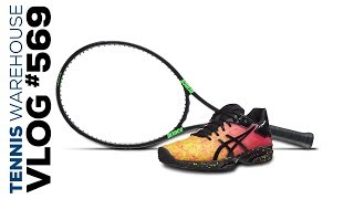 New Prince Phantom Racquets! New Asics Shoes! -- VLOG #569