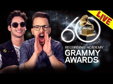 GRAMMY 2018 🎤 🎼 - COMENTÁRIOS DA TRANSMISSÃO (OFICIAL) #GrammyNaTNT