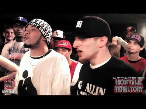 AHAT - Rap Battle - Donnie Menace & White Cheddar vs DJ Penn & Aries