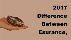2017 Difference Between Esurance, Geico and Progressive Insurance