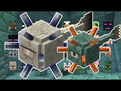 FATHER AND SON TEAM VS 2 OF EVERY MOB | MINECRAFT