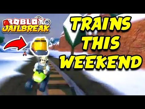 Roblox Jailbreak WINTER UPDATE THIS WEEKEND! Trains and Train Robbing Confirmed! | 🔴 Roblox Live