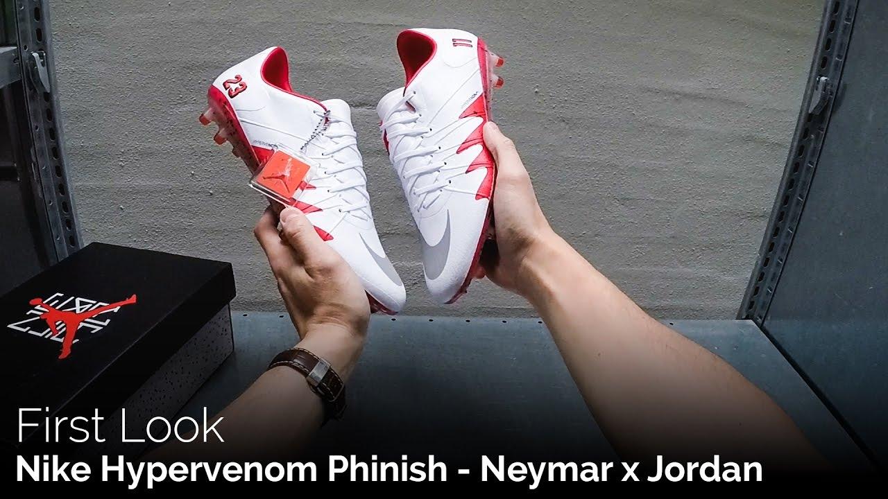 huge discount 80726 73bfa Nike Hypervenom Phinish - Neymar x Jordan | First Look & POV Unboxing