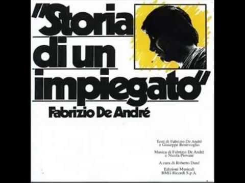 Fabrizio De André   Storia di un impiegato   album completo