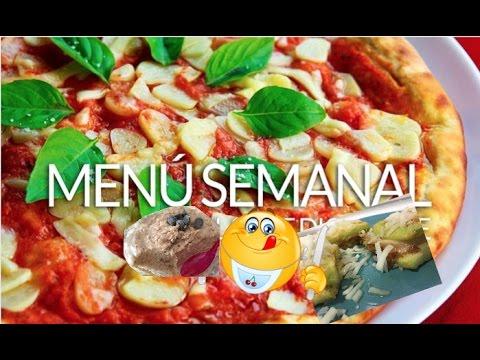 ideas para hacer de comida 6 menu semanal youtube