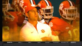 ESPN commercial for 2016 college football national title game