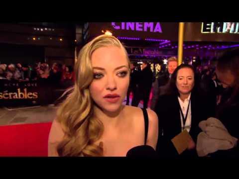 Amanda Seyfried London Premiere! Les Misérables