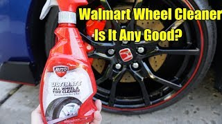 Auto Drive Ultimate Wheel and Tire Cleaner Review 2019. Honda Civic Type R.