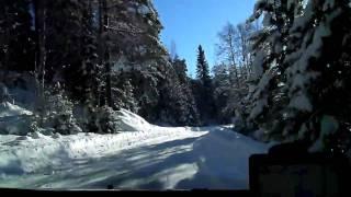 Ford Focus Rally Sweden 2011- SS Sandsjön-Lesjöfors