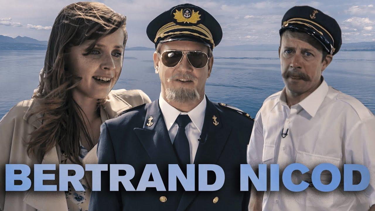 Portrait de Bertrand Nicod, capitaine à la CGN