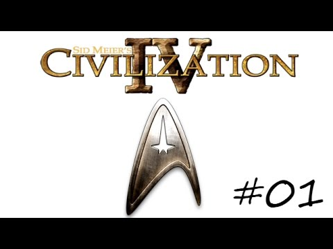 "Civilization 4: Star Trek Mod - (Part 1) - ""50th Anniversary"""