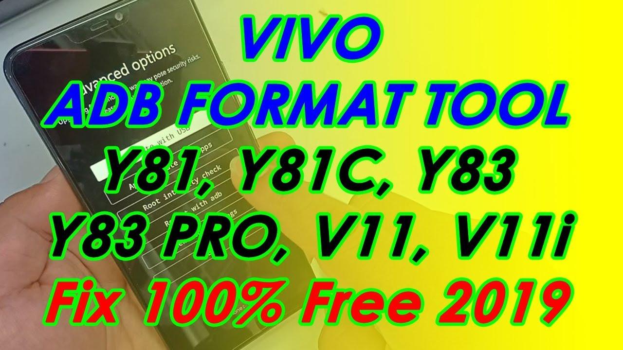 Vivo ADB Format Tool : Buka Pola Pin Vivo Y81 Y81c Y83 Y83 Pro V11 V11i