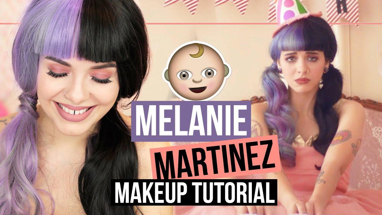 Melanie Martinez Pity Party Makeup Tutorial Youtube