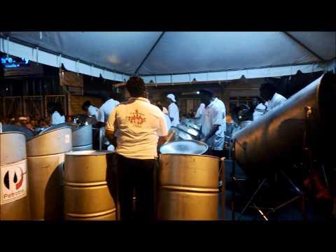 Steel Drum Band in Port of Spain, Trinidad
