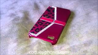 Coque iphone 4 rose