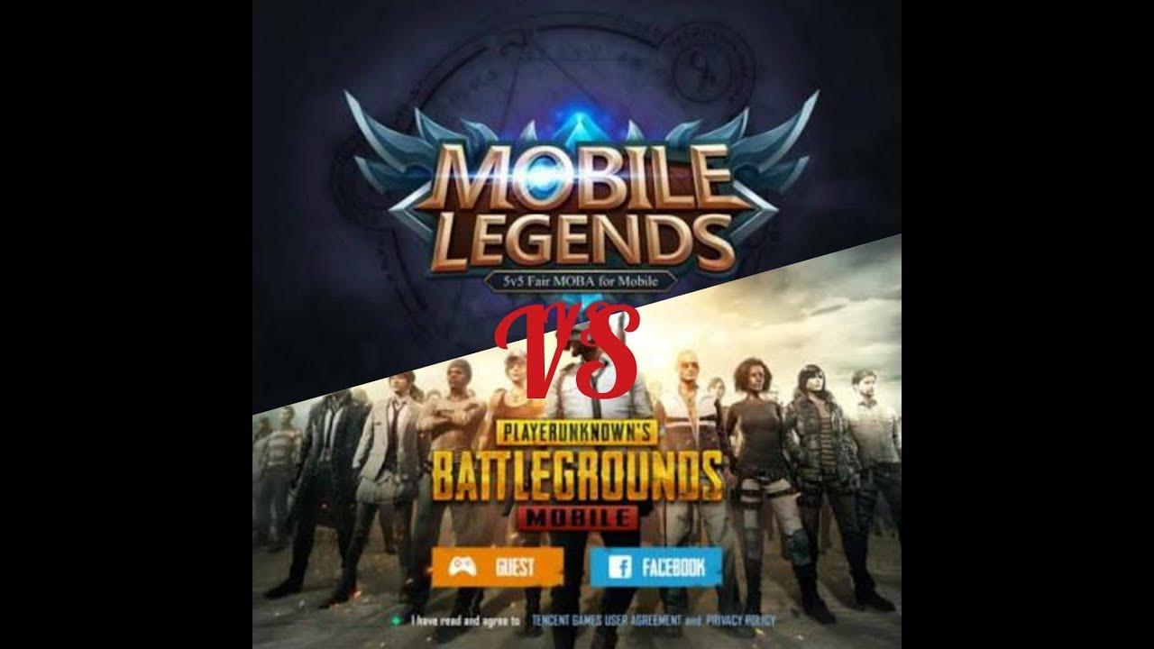 Mobile legend vs pubg pilih mana