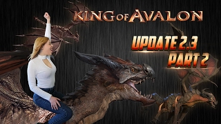 KoA - Update 2.3, Part 2 by Lady of Avalon(King of Avalon – Dragon Warfare Download now! http://bit.ly/Download_KoA With subtitles. Please click