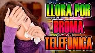 MUY NERVIOSA Y LLORA POR BROMA TELEFÓNICA | Josemi