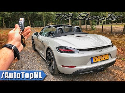 Porsche 718 Boxster REVIEW POV Test Drive by AutoTopNL