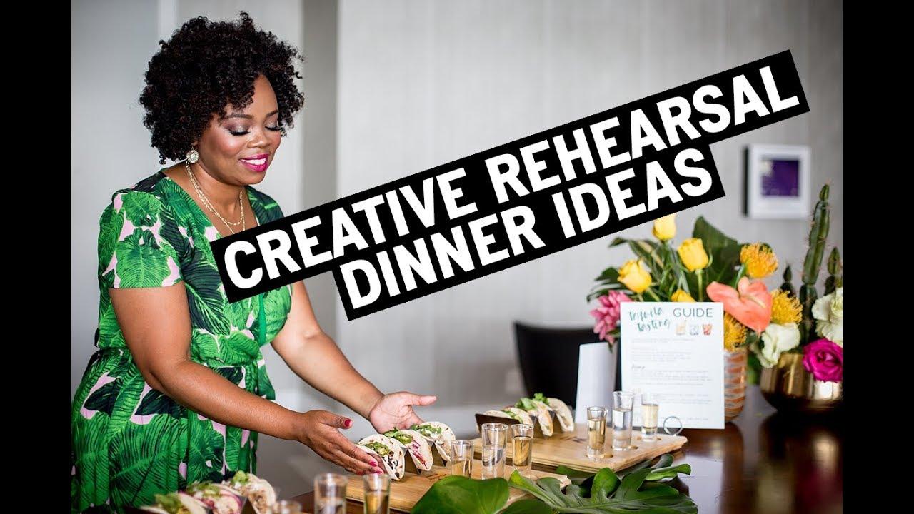 Creative Wedding Rehearsal Dinner Ideas