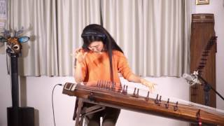 Pink Floyd-Comfortably Numb solo Gayageum ver. by Luna/SXSW2017 participation