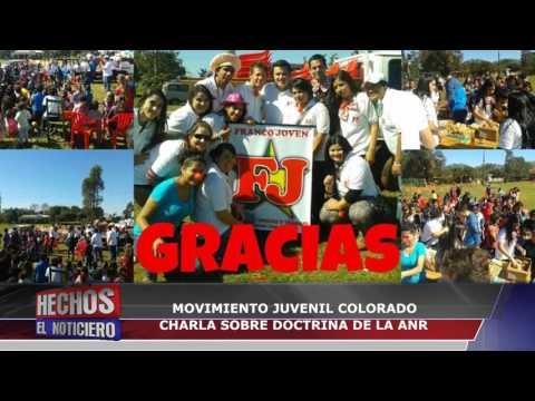 Canal 48 HD - MOVIMIENTO JUVENIL COLORADO CHARLA SOBRE DOCTRINA DE LA ANR