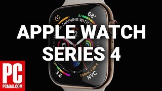 First Look at the Apple Watch Series 4