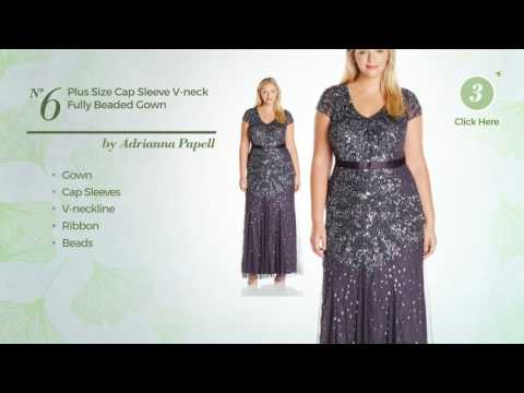 Adrianna Papell Plus Size Dresses Statement Making