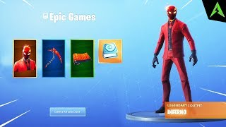 The new * INFERNO PACK * in Fortnite..
