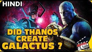 AVENGERS ENDGAME : Did Thanos Create Galactus? [Explained In Hindi]