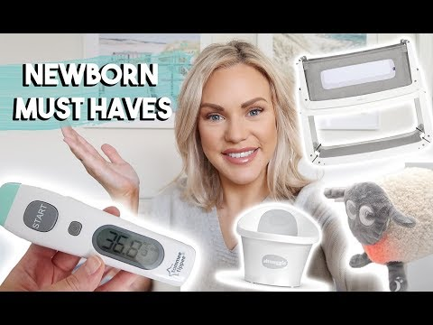 NEWBORN MUST HAVES   THINGS YOU SHOULD BUY YOUR NEWBORN