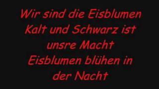 Eisblume-Eisblumen with lyrics