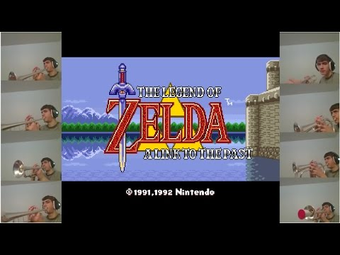 Hyrule Castle - Trumpet Cover - Legend of Zelda : A Link to the Past