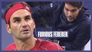 Furious Federer