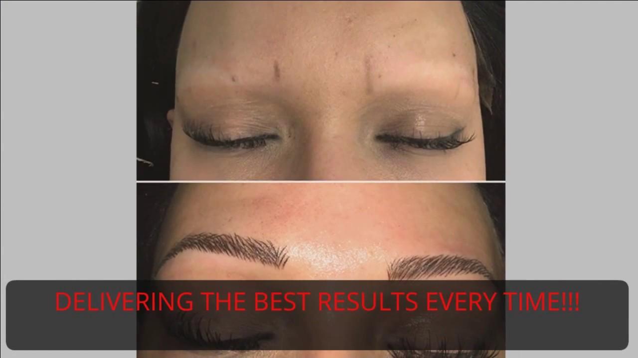 ca7bdc2006e96 Eyebrow Microblading Miami - YouTube