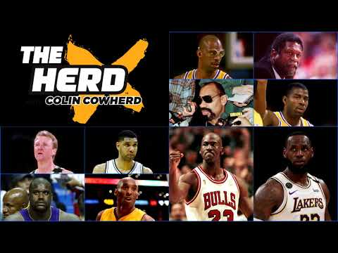 Colin Cowherd & Nick Wright React To ESPN's Top 10 All-Time NBA Players List
