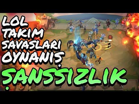 League Of Legends Takım Savaşları | TFT | Şanssızlık