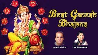 Best Ganesh Songs, Ganesh Mantras, Ganesh Aarti & Ganesh Bhajans, by Lata Mangeshkar & Suresh Wadkar