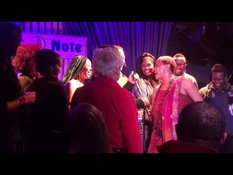 """""""Wild Horses"""" Lisa Fischer and Grand Baton at Blue Note NYC  2/19/2017"""